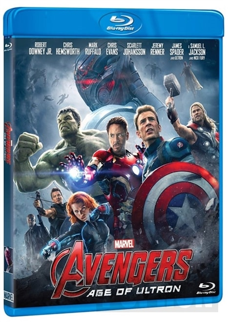 Avengers: Age of Ultron, BD