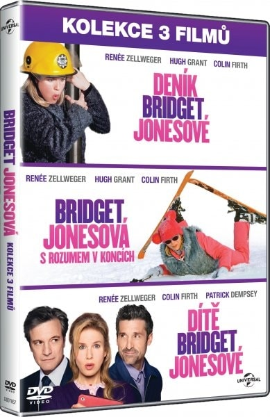 3 DVD Bridget Jonesová, DVD