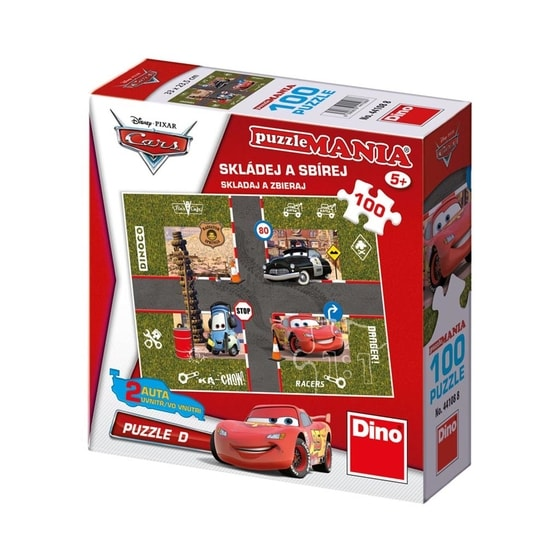 Dino CARS D 100 puzzlemania Puzzle