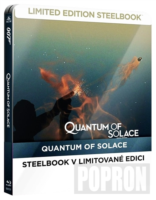 James Bond - Quantum of Solace (Steelbook), BD