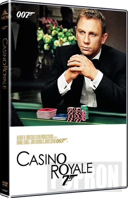 James Bond - Casino Royale (2006) (2015), DVD