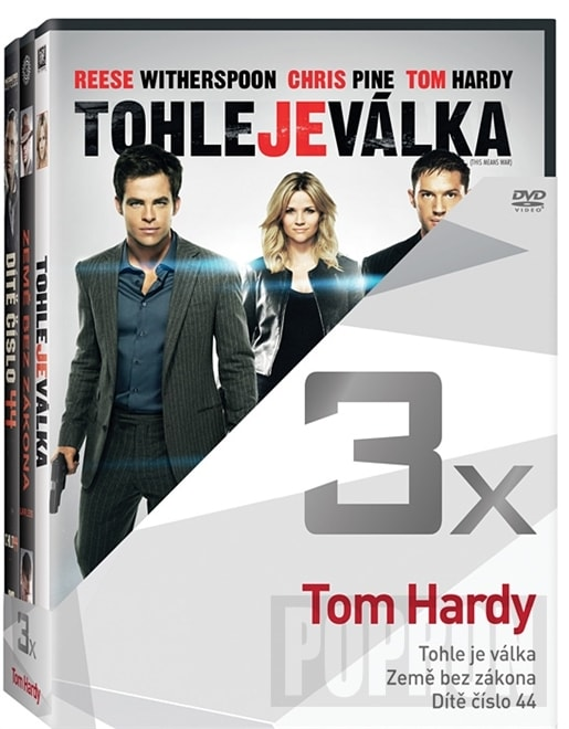 3x Tom Hardy, DVD