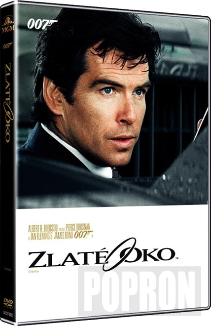 James Bond - Zlaté oko (2015), DVD