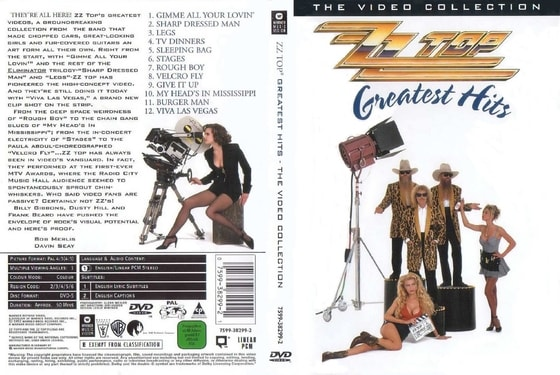 Zz Top - Greatest Hits, DVD