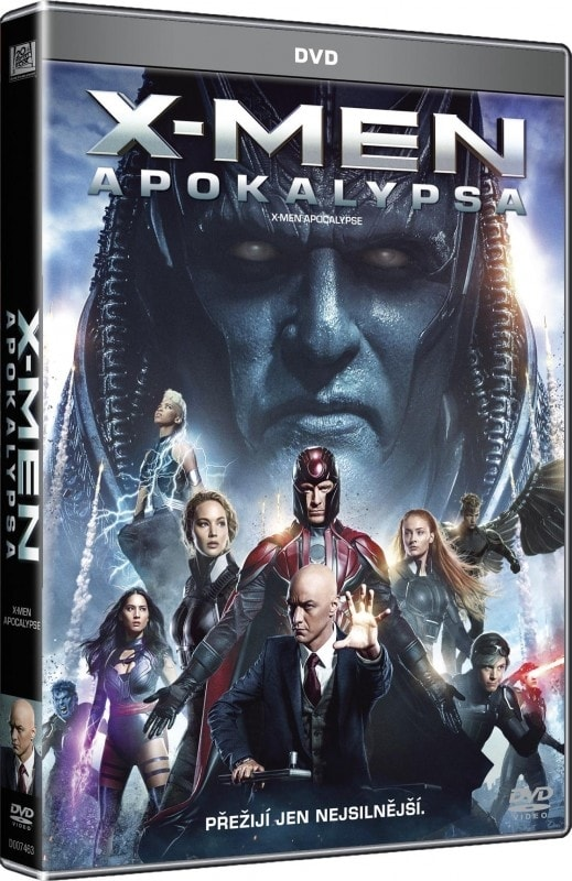 X-Men: Apokalypsa, DVD
